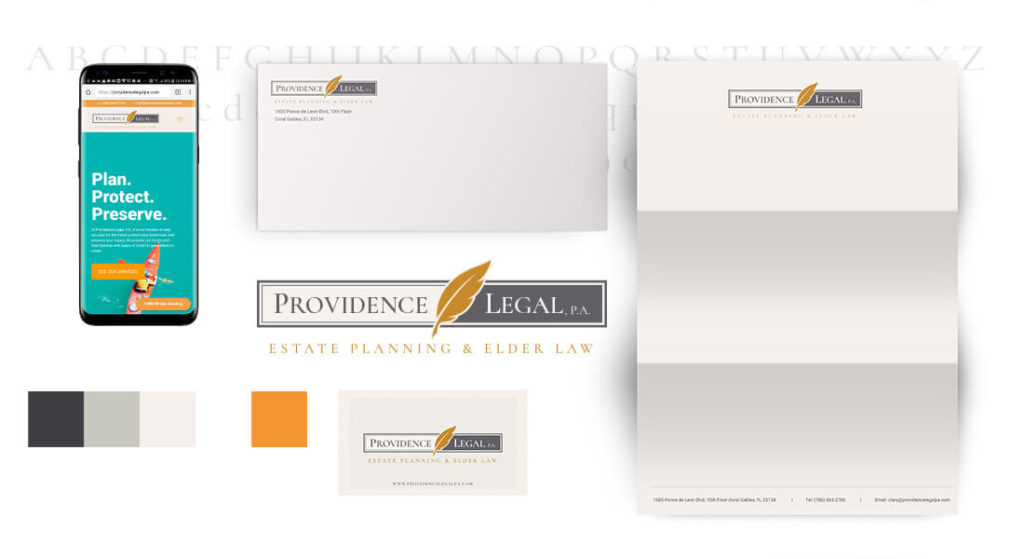 Point A Solutions - providence legal pa branding example