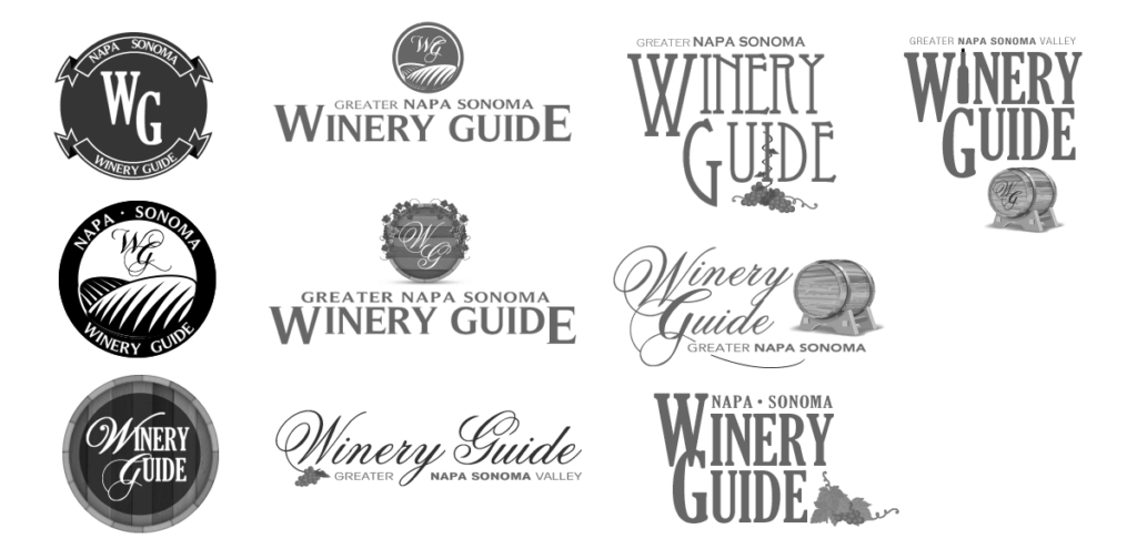 Point A Solutions - winery guide logos